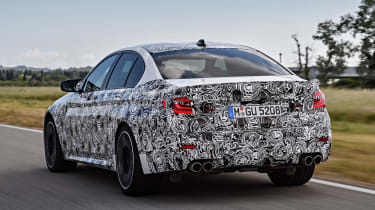 BMW M5 prototype - rear