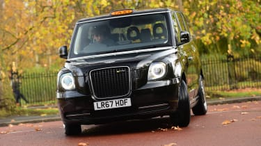 LEVC TX London Taxi - front action