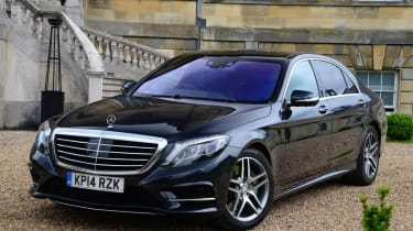 Mercedes S-Class static