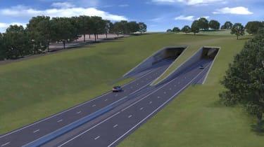 Stonehenge tunnel - plans revealed