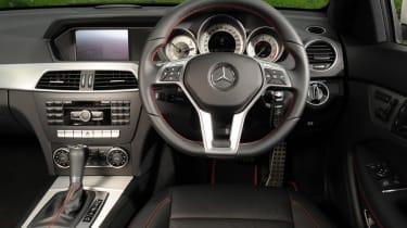 Mercedes C180 Coupe interior