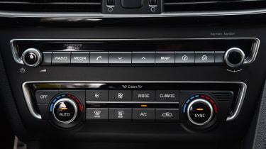 Kia Optima GT - centre console