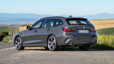 BMW 3 Series Touring - rear static
