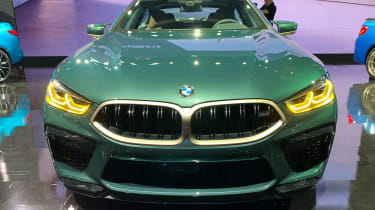 BMW M8 Gran Coupe - Los Angeles full front