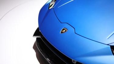Lamborghini Huracan Performante Spyder badge