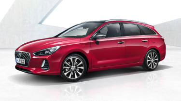 Hyundai i30 Tourer - front