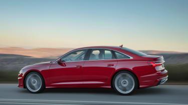 New Audi A6 - side