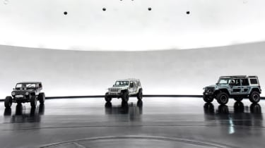 Jeep's wildest concepts driven - Switchback, Quicksand and Safari