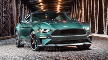Ford Bullitt Mustang GT - front static