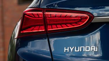 Hyundai Santa Fe - taillight