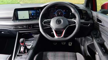 Volkswagen Golf GTI manual - dash