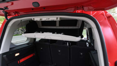 Peugeot Rifter boot storage hatch