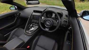 Jaguar F-Type 400 Sport - interior