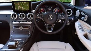 Mercedes C 350e plug-in hybrid - interior