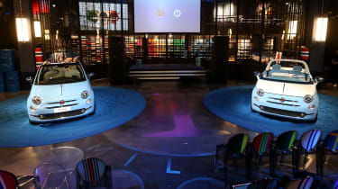 Fiat 500 Spiaggina by Garage Italia and Spiaggina '58