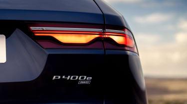 Jaguar F-Pace PHEV - rear badge