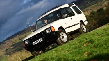 Land Rover Discovery Mk1 - front static