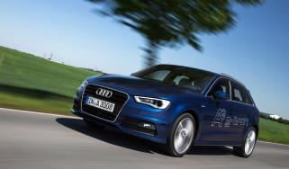 Audi A3 Sportback g-tron driving