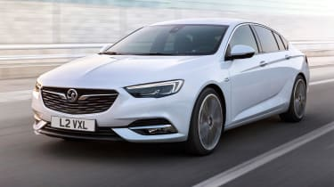 New Vauxhall Insignia Grand Sport - front