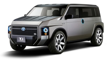 New Toyota Tj Cruiser concept - front quarter