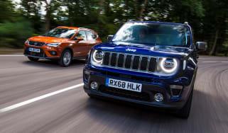 SEAT Arona Jeep Renegade - twin test