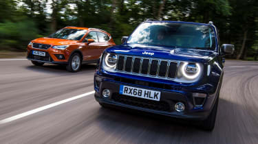 SEAT Arona Jeep Renegade - twin test
