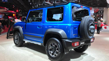 Suzuki Jimny - Paris rear