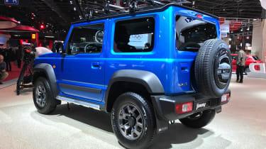 Suzuki Jimny - Paris rear