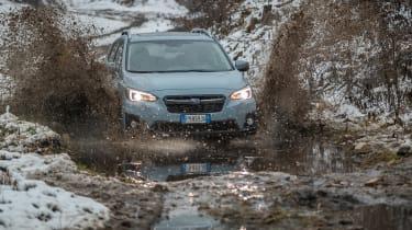 Subaru XV - front off-road