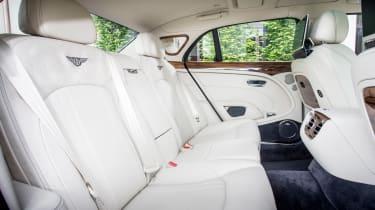 Bentley Mulsanne 2016 - rear seats