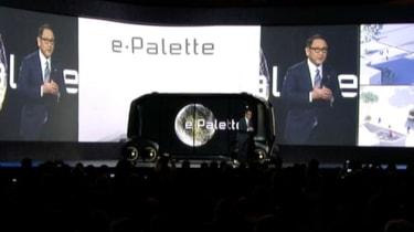 Toyota e-Palette - CES presentation