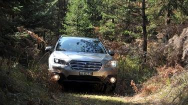 New Subaru Outback 2015 nose