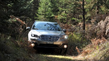 New Subaru Outback 2015 nose