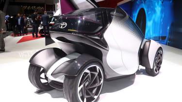 Toyota i-Tril concept Geneva - rear