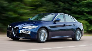 Alfa Romeo Giulia long term test - first report front