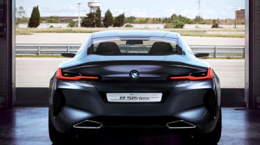 BMW Concept 8 Series - full rear
