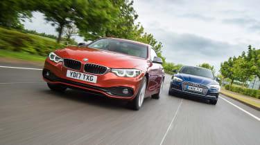 BMW 4 Series vs Audi A5 - head-to-head