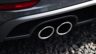 Audi A3 Sportback 2.0 TDI - exhaust