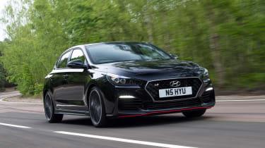 Hyundai i30 Fastback N - front tracking