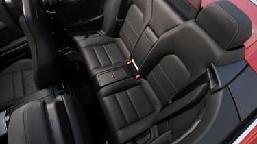 Mercedes E400 Cabriolet seats