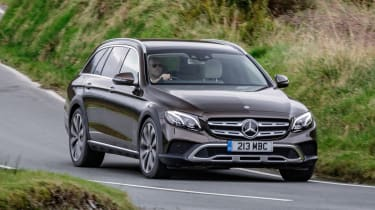 Mercedes E-Class All-Terrain - front cornering