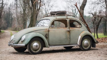 RM Sotheby's 2017 Paris auction - 1952 Volkswagen Type 1 Beetle front