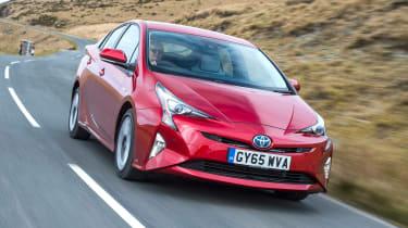 Toyota Prius - front panning