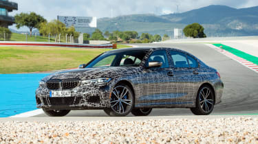 BMW M340i xDrive prototype - front static