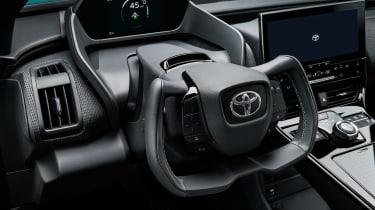 Toyota bZ4X concept - cabin