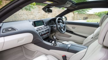 BMW 640d Coupe - cabin