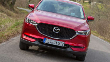 Mazda CX-5 2017 - manual Tuscany front tracking 2