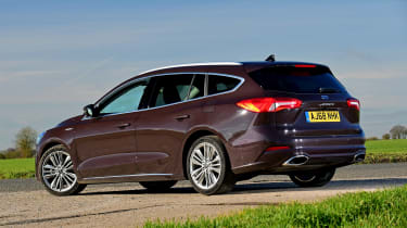 Ford Focus Vignale Estate - rear static