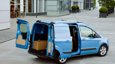 Ford Transit Courier rear doors