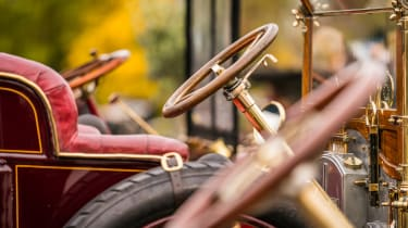 London to Brighton Veteran Car Run  -  steering wheels